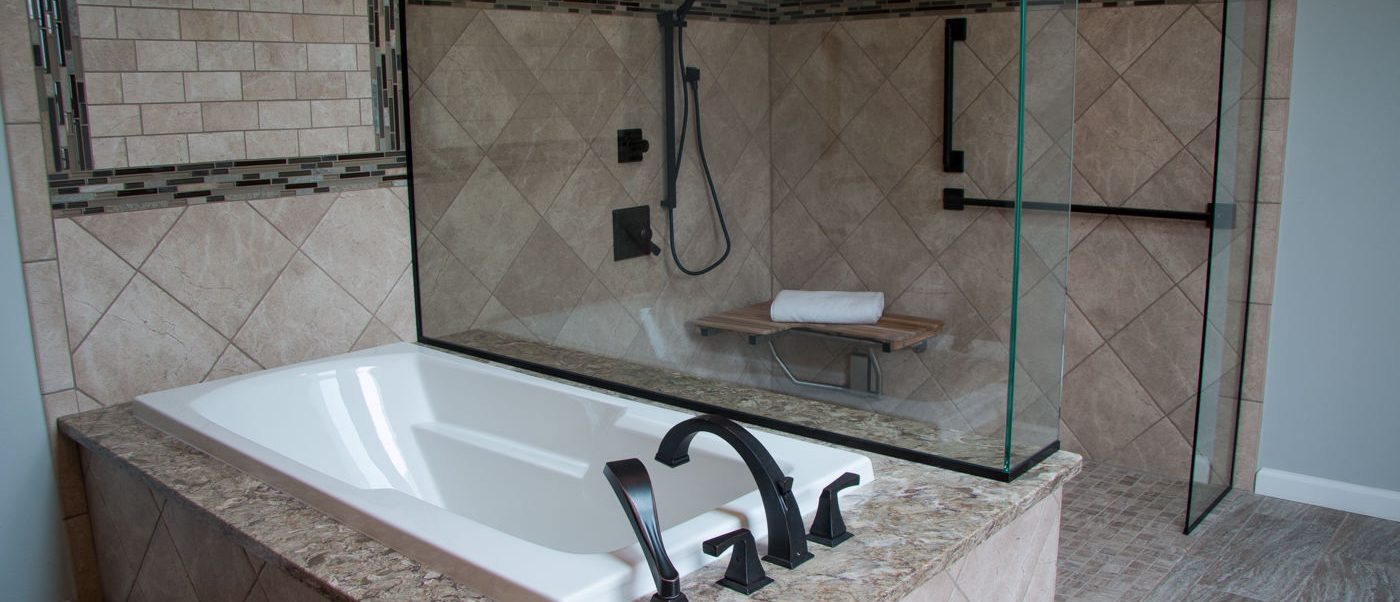 Remodeling A Master Bathroom To Be Handicap Accessible In OFallon - Bathroom remodeling belleville il