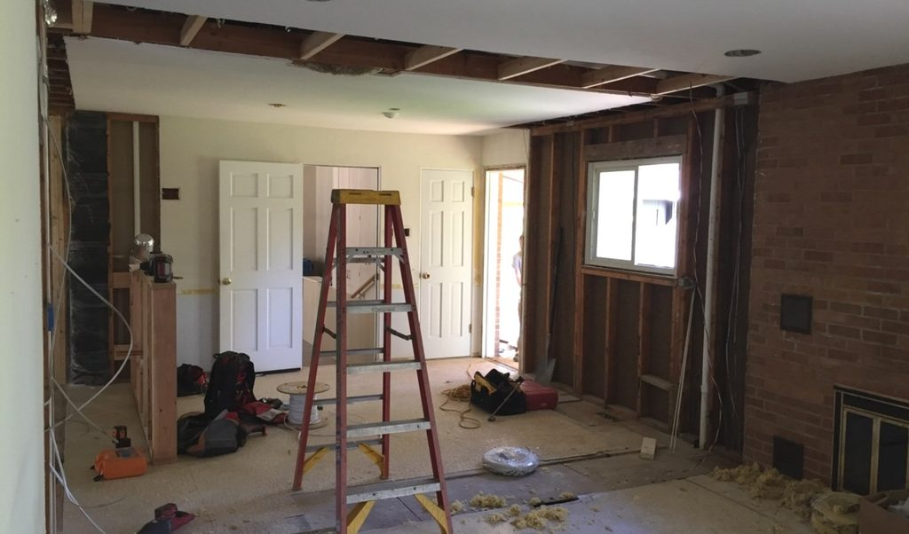 before and after home remodel st. louis