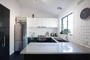 kitchen subway tiles st. louis