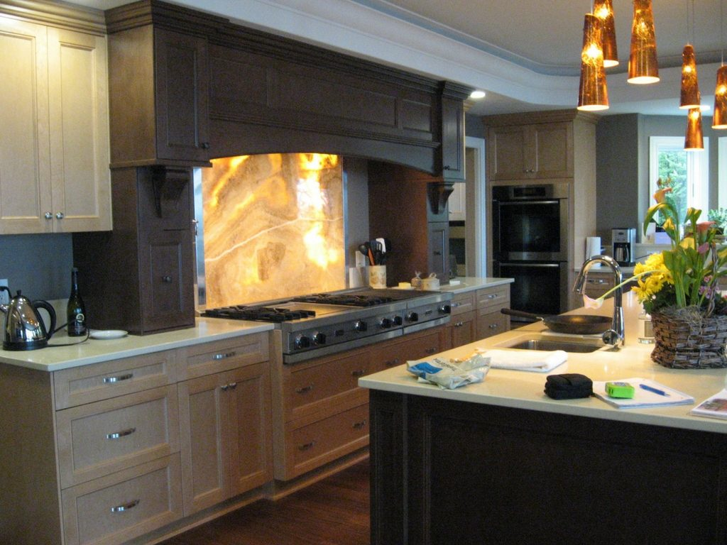 modern kitchen backsplash st. louis
