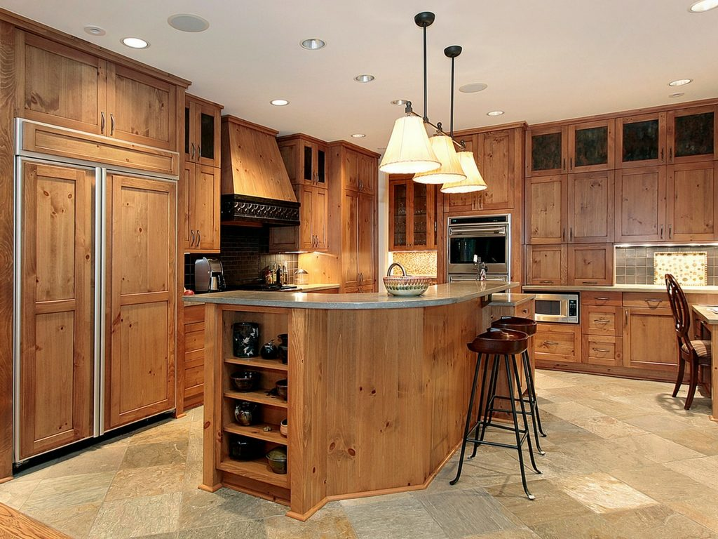 Choosing Kitchen Cabinets In St Louis Which Wood Works For