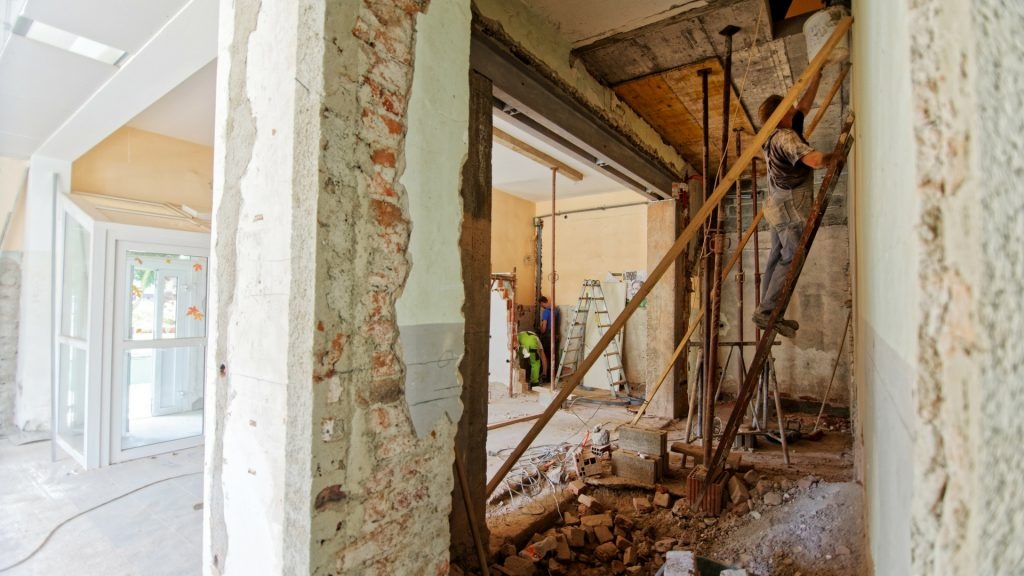 gutting a house and remodeling st. louis