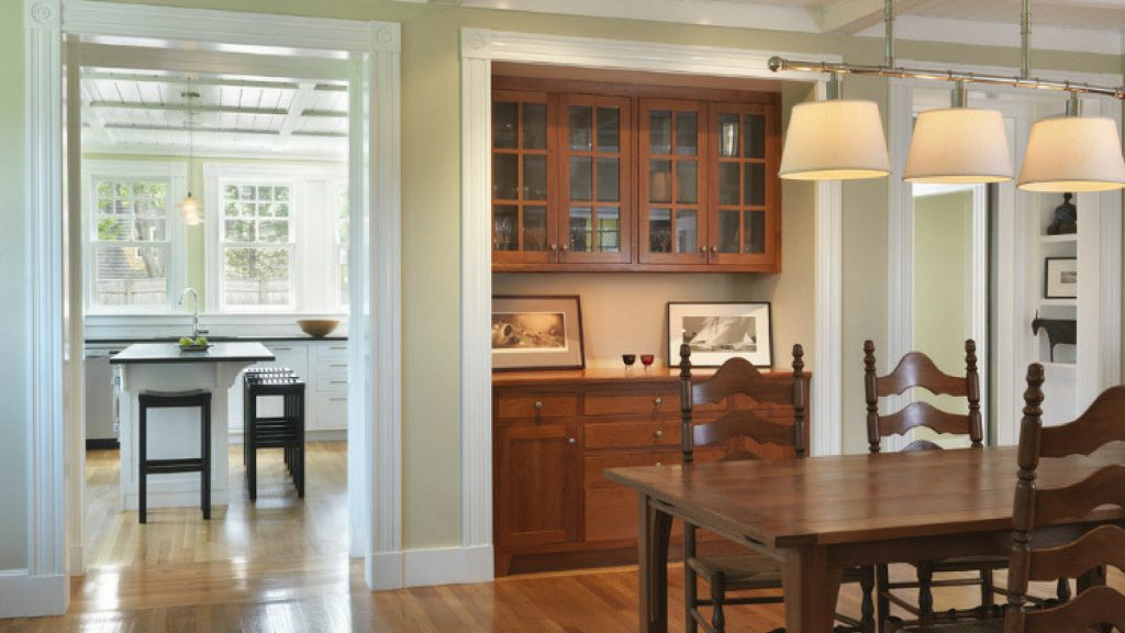 built in dining room storage st. louis