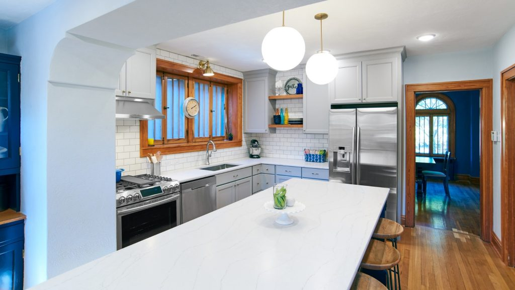 kitchen design l-shape