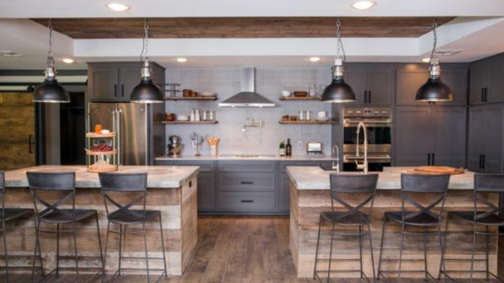 two Island kitchen designs