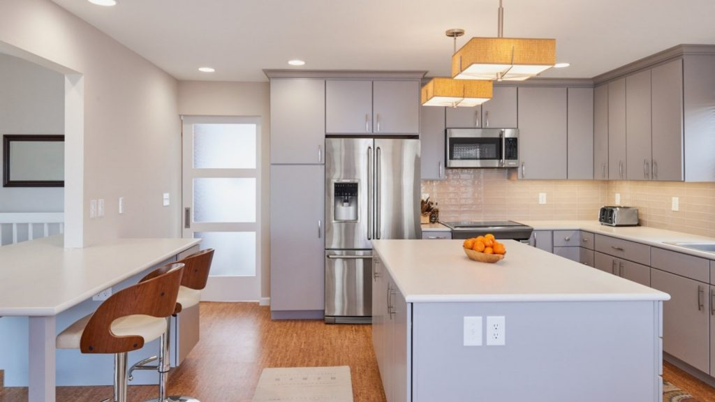 should i connect my living dining and kitchen areas