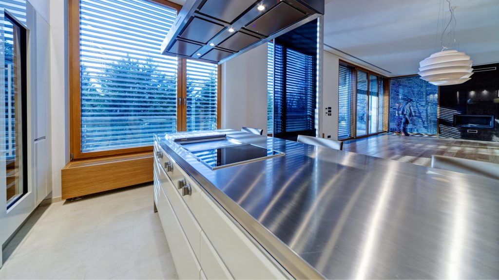 kitchen design with raw food in mind