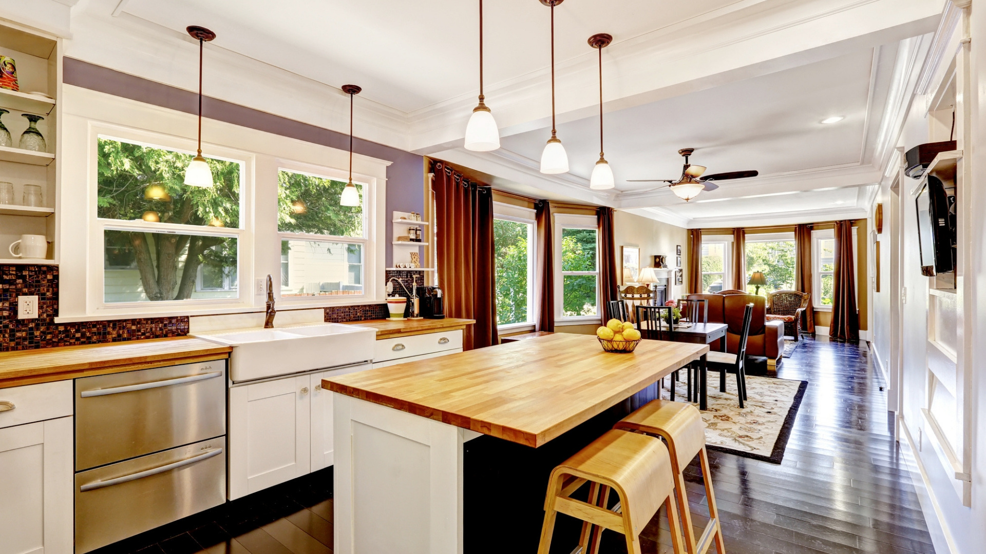 tips and ideas for open plan living