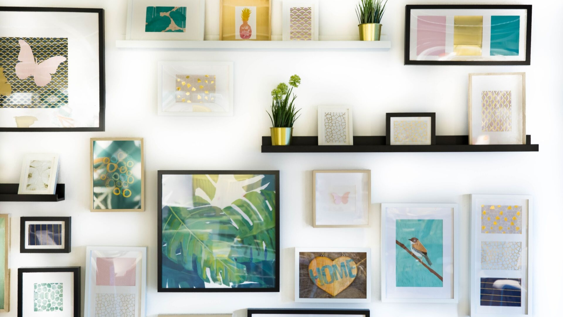 displaying collections in your home