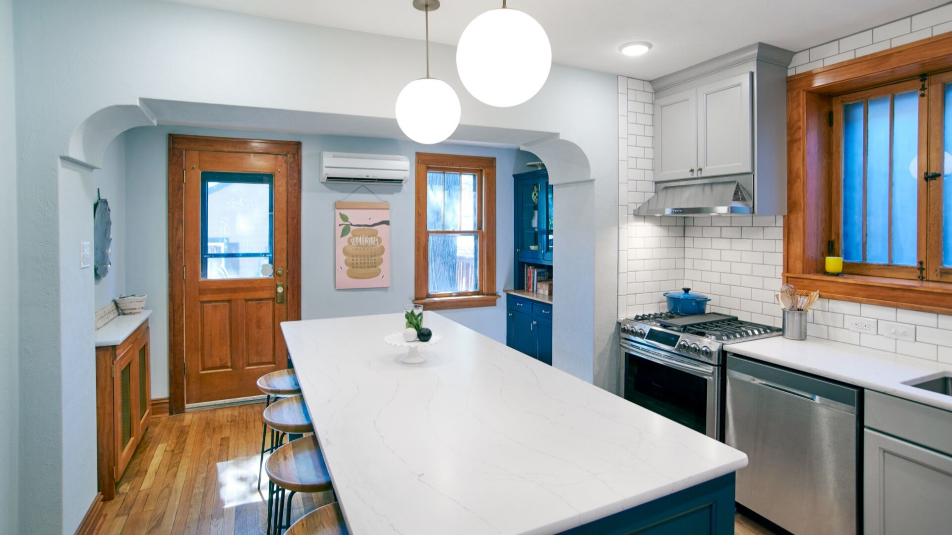 mixing and matching your countertops