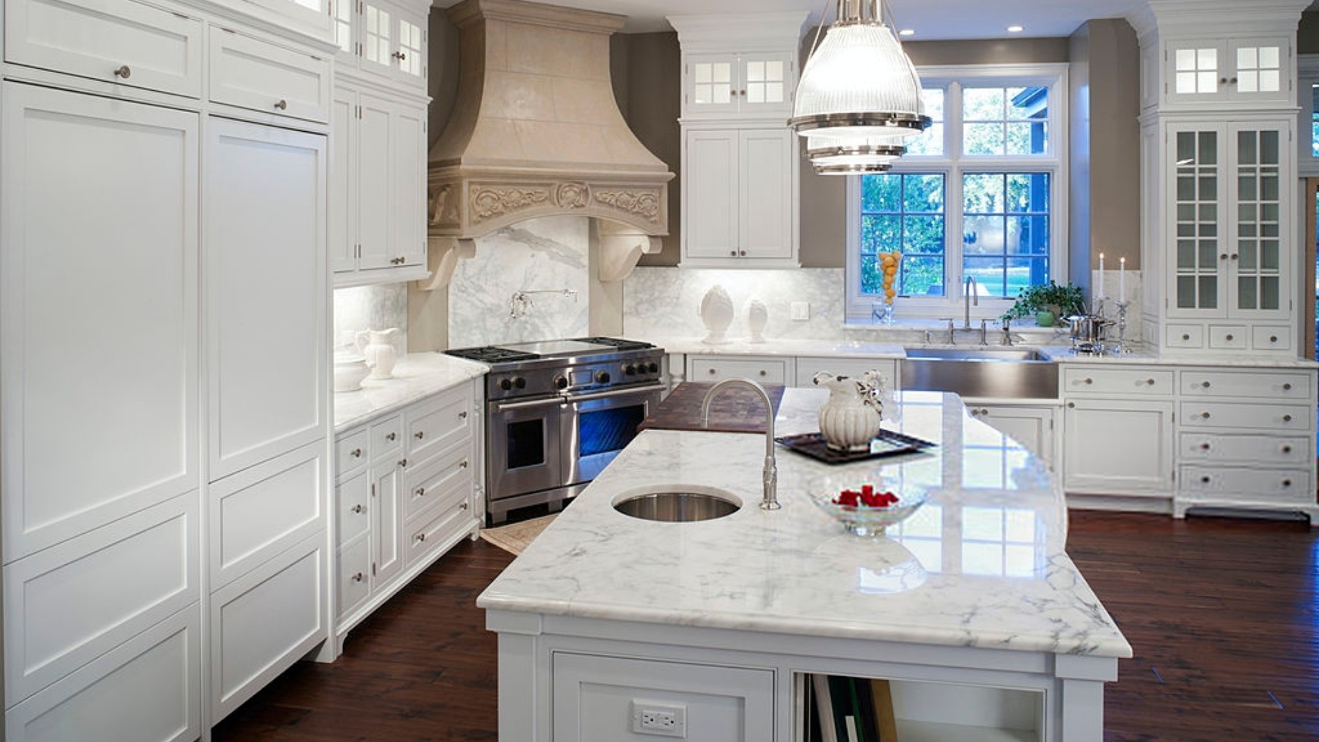 What Countertop Color Looks Best With White Cabinets In Your St Louis Kitchen