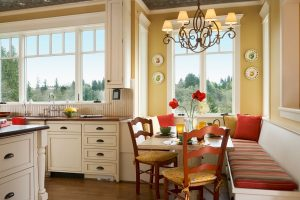 kitchen banquette seating