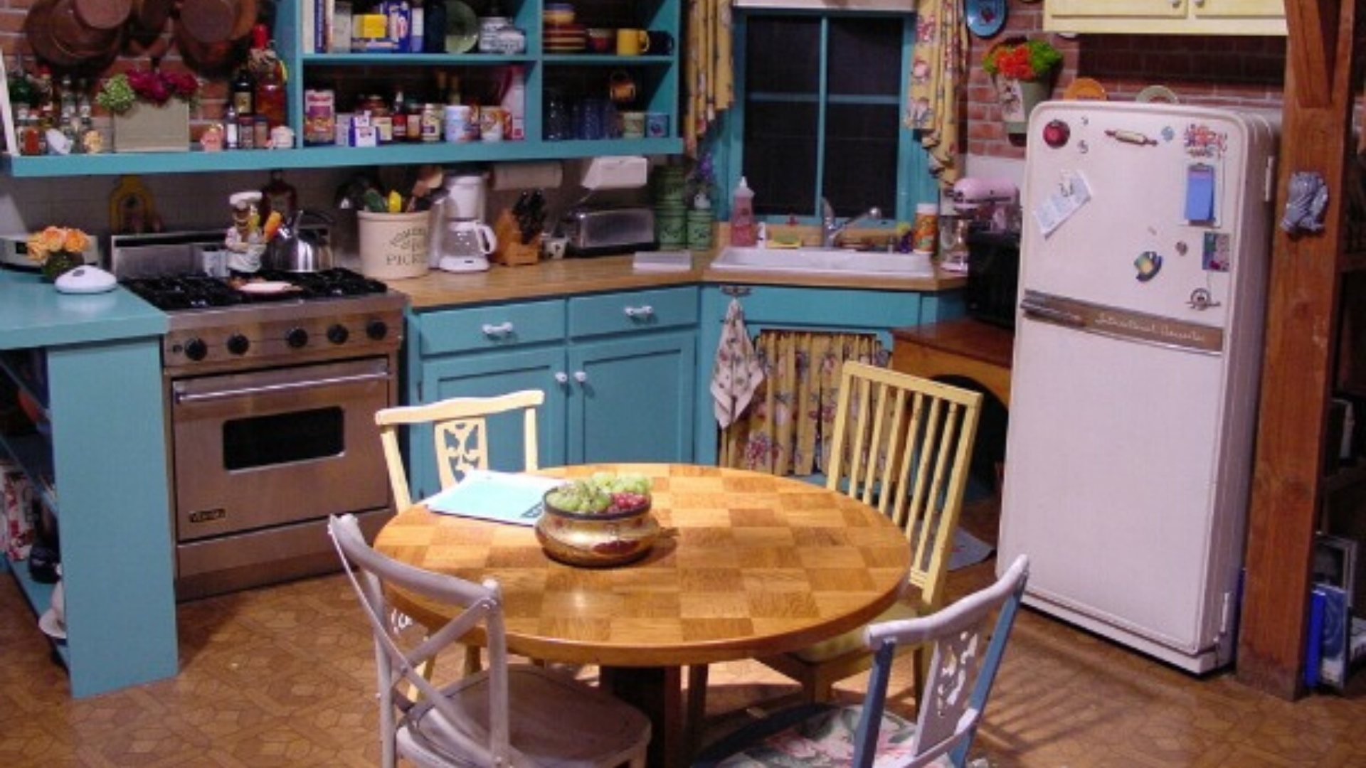 popular TV show kitchen design breakdown Friends