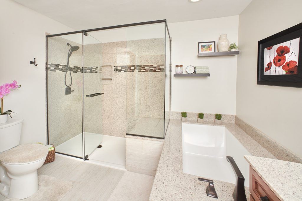 A Well-Kept Ranch Style Home Bathroom Remodel in Swansea, IL