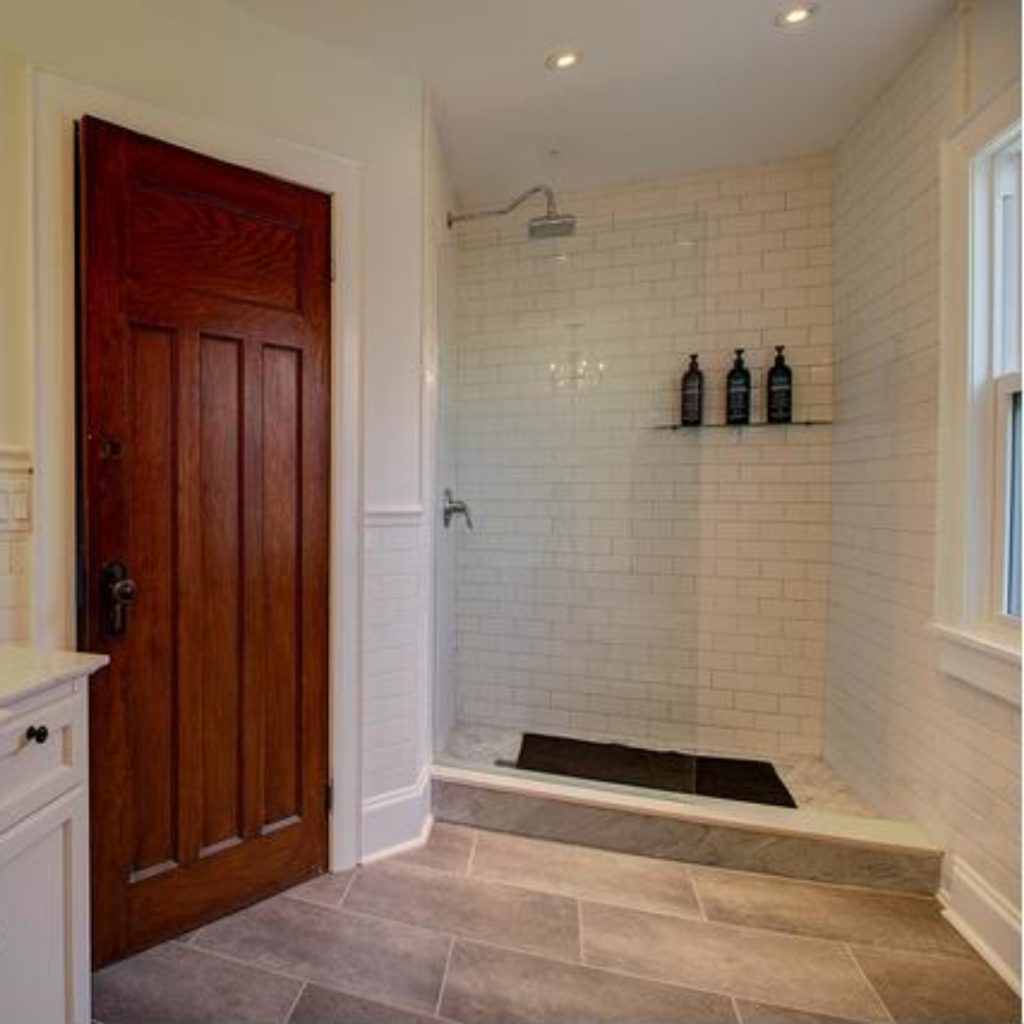 mcdermott remodeling doorless showers