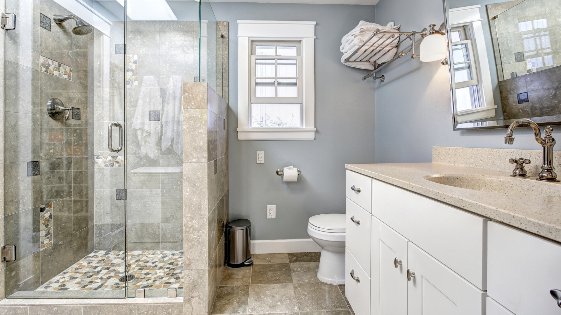 mcdermott remodeling how to make small bathroom luxurious