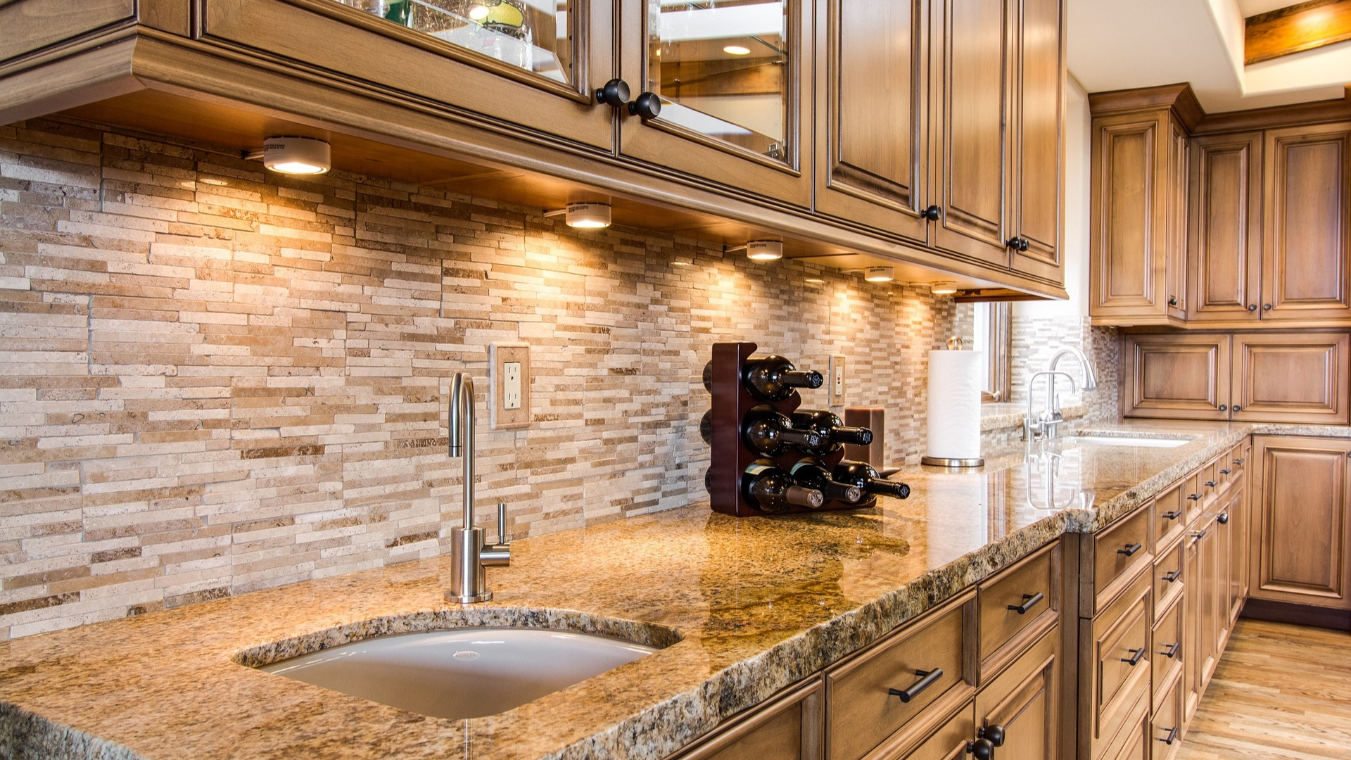 mcdermott remodeling under cabinet lighting