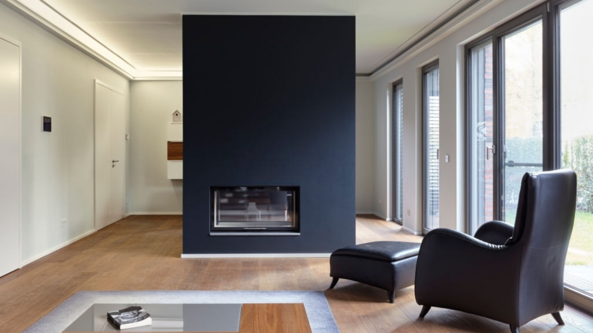 mcdermott remodeling double sided fireplaces